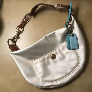 COACH Hobo bag, White